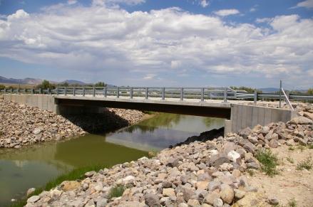 Utah DOT, Axtell,UT, Sevier River Bridge